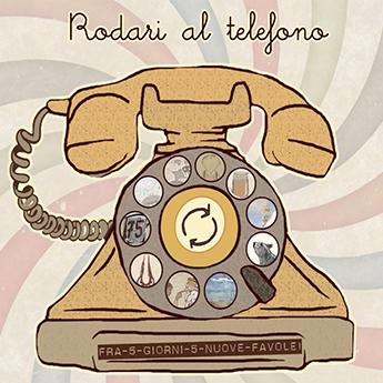 Raccolta delle illustrazioni  novelle  Rodari al telefono